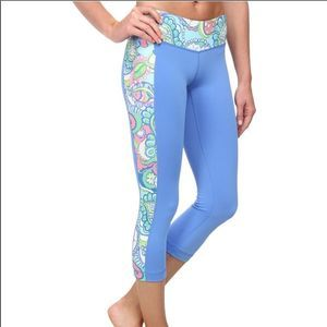 Lilly Pulitzer Luxletic Weekend Cropped Pants! 🌸